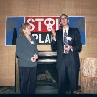 Meryl Streep and Ned Sullivan