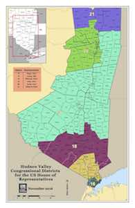 Hudson Valley Congressional Districts