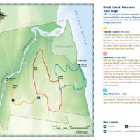 Black Creek Preserve Map