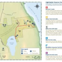 High Banks Preserve Trail Map