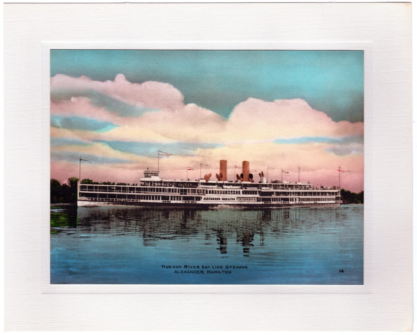 hudson river day line steamer