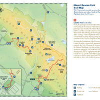 Mount Beacon Trail Map