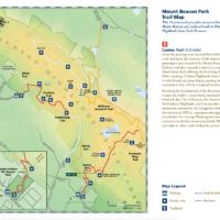 Fishkill Ridge map