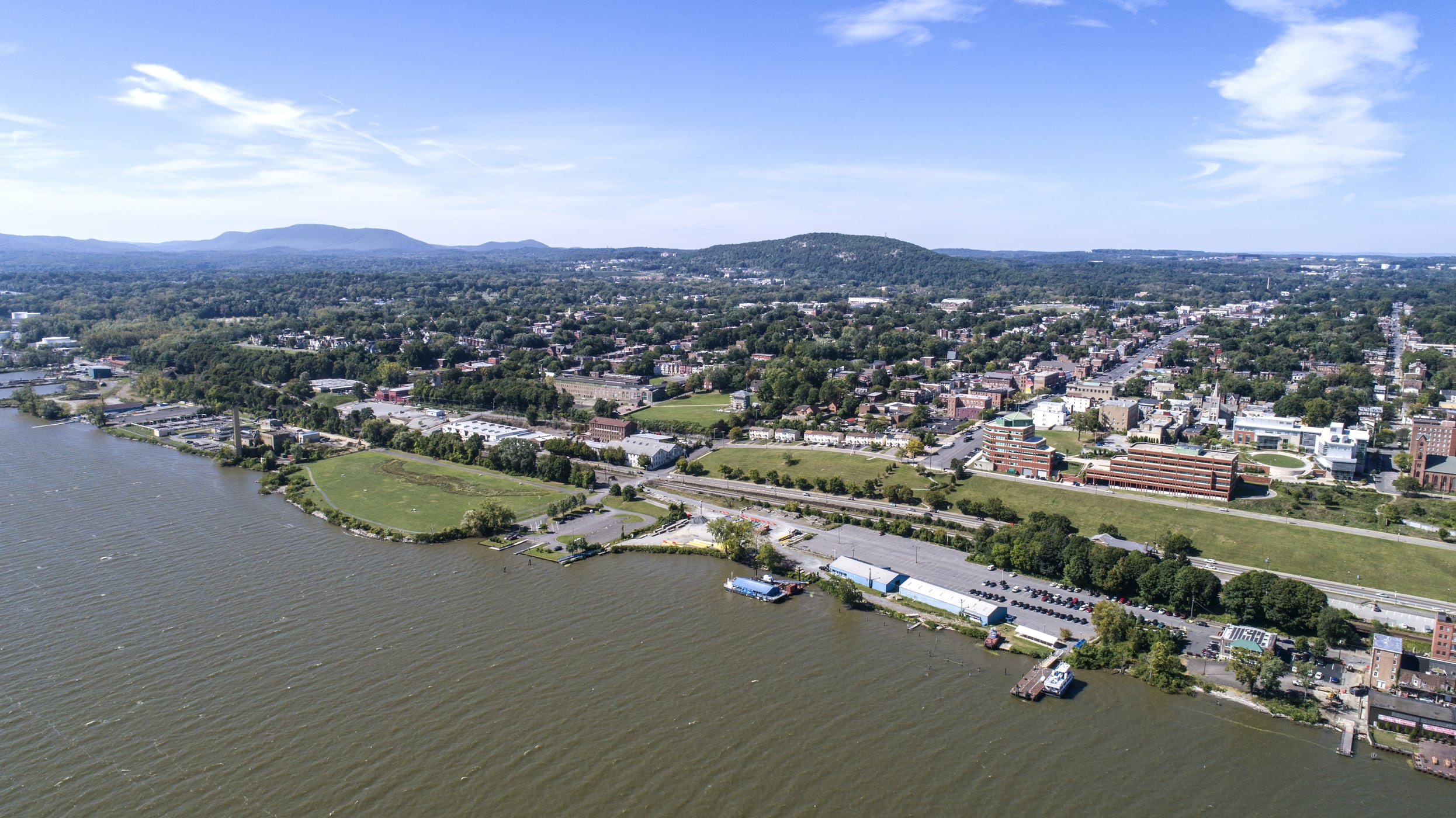 Newburgh waterfront