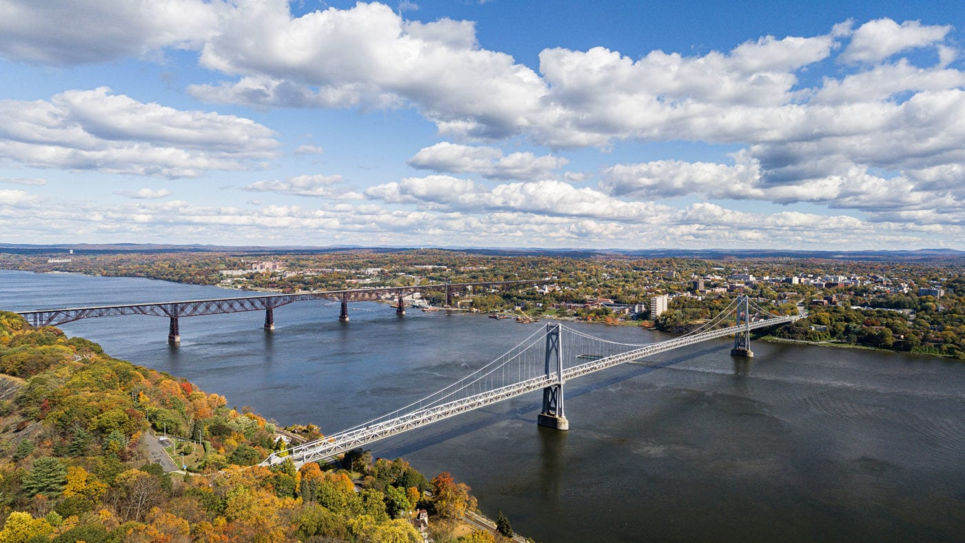 Poughkeepsie waterfront (photo by Pierce Johnston)