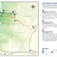 Poets Walk Trail Map