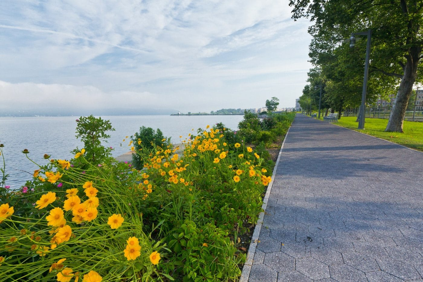 Scenic Hudson Riverwalk Park at Tarrytown