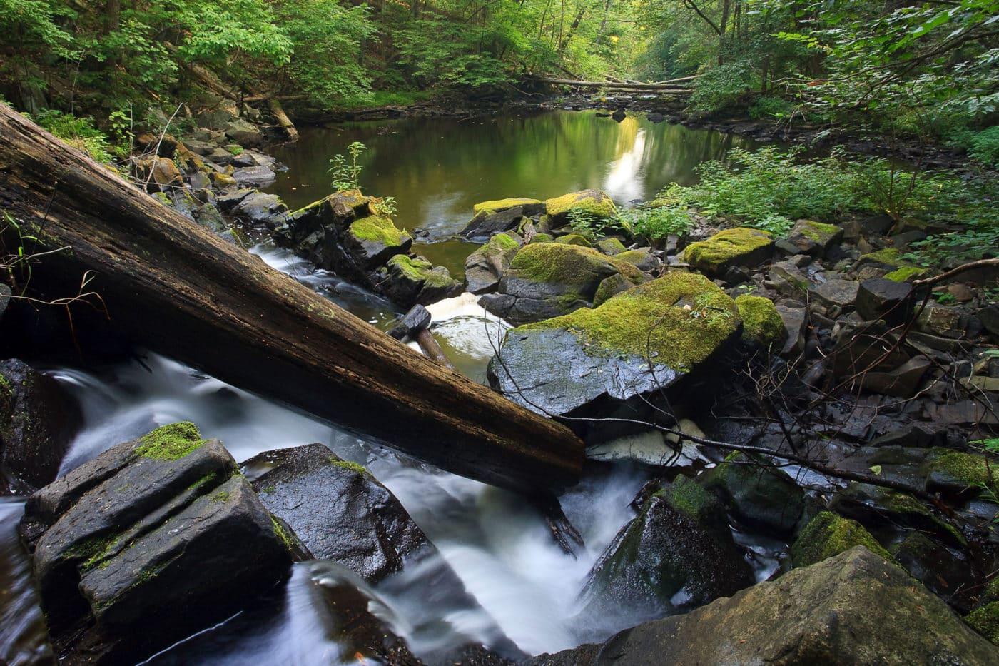 Black Creek waterfall