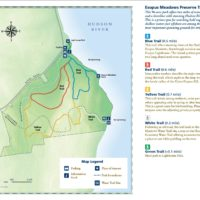 Esopus Meadows Preserve map