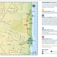 Falling Waters Preserve Map
