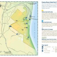 Franny Reese State Park Trail Map