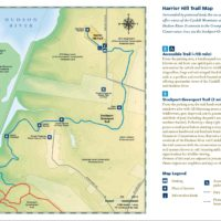 Harrier Hill Trail Map