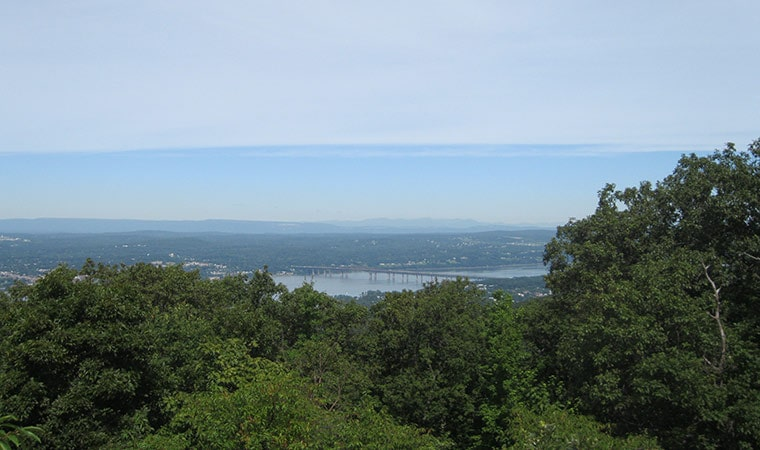 Northward View from Hudson Highlands Hiking Trail