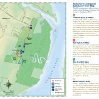 RamsHorn-Livingston Sactuary Trail Map