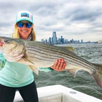 Striped Bass caught by Lauren Hepplewhite