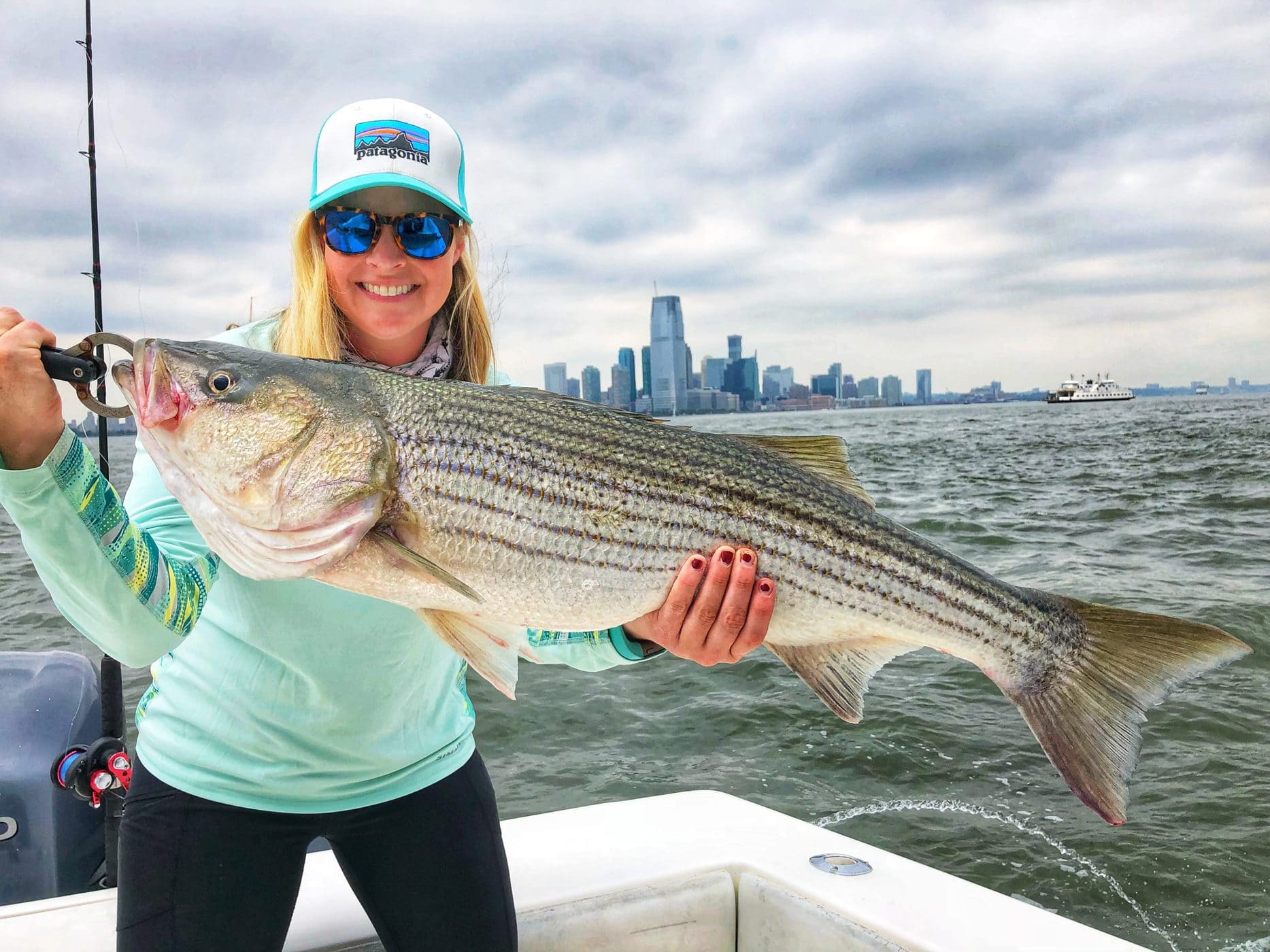 Striped Bass caught by Lauren Hepplewhite